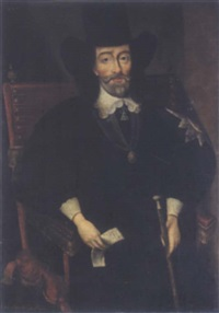 portrait of king charles i at his trial by edward bower