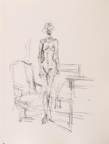 paris sans fin (portfolio of 150) by alberto giacometti