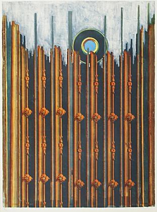 mur et soleil by max ernst