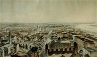 new orleans, from st. patrick's church (collab. w/ john william hill by benjamin franklin smith