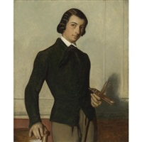portrait of the artist as a young man by alexandre cabanel