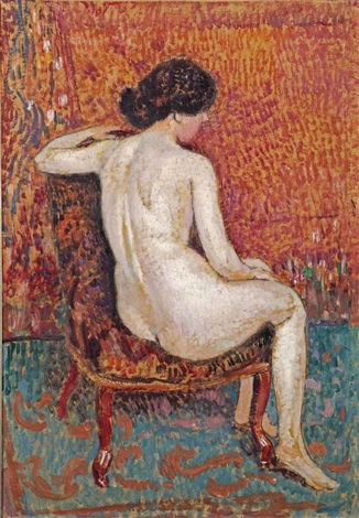 nude by georges lemmen