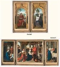 triptyque de l'adoration des mages by hans memling