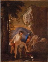 scena mitologica by andrea di leone