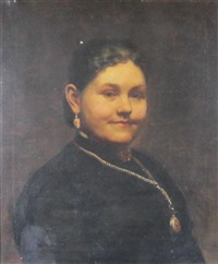 portrait of sarah myers by paul peel