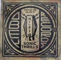 sonic thrills by shepard fairey