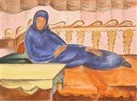 gornaia bukhara (portfolio of 15 works) by pavel varfolomeevich kuznetsov