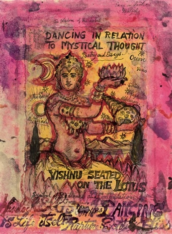 dancing in relation to mystical thought 2 others 3 works by stephen tennant