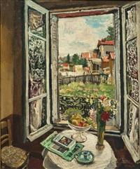 la fenêtre ouverte by marcel françois leprin