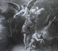 the sacrifice of isaac by antonio crespi