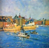 le port de stockholm by valentine petchatine