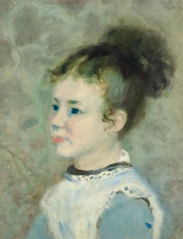 portrait de jeanne sisley by pierre auguste renoir