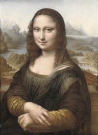 the mona lisa by marie-adélaide ducluzeau