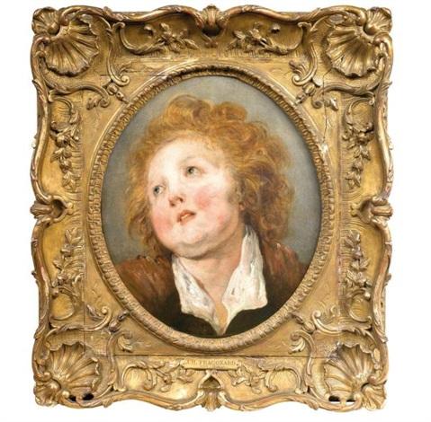 portrait dun jeune garçon blond by jean honoré fragonard