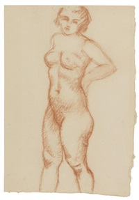 nu debout by aristide maillol