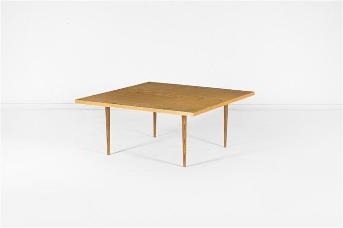 Table basse by tapio wirkkala on artnet - Tables basses carrees ...