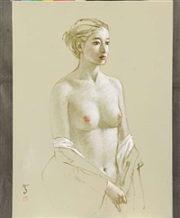 female nude by seigo takatsuka