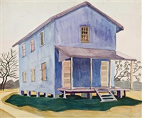 the blue house by isabel mclaughlin