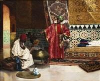le marchand d'antiquités by rudolf ernst