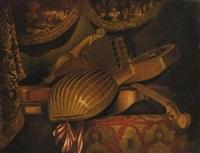 natura morta con strumenti musicali by evaristo baschenis