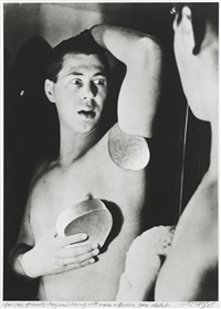 self-portrait (photomontage) by herbert bayer