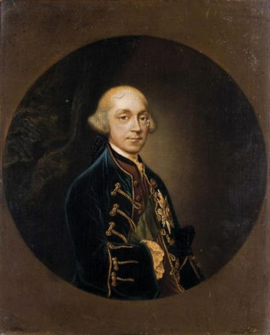 portait of francis earl brooke earl of warwick by cosmo alexander
