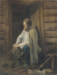 a woodcutter by vasili andreevich golynskij