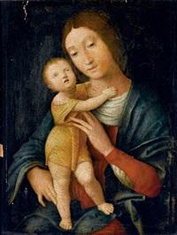 madonna col bambino by andrea mantegna