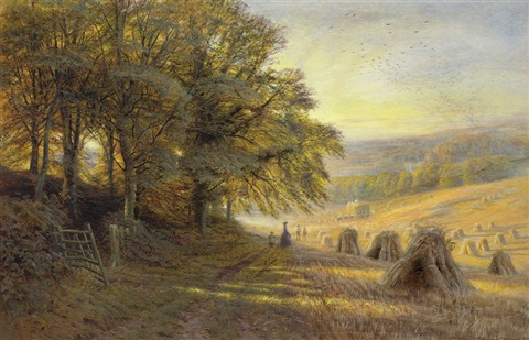 harvest by edmund george warren