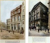 phoenix assurance, west end (+ phoenix assurance, lombard street; 2 works) by hanslip fletcher