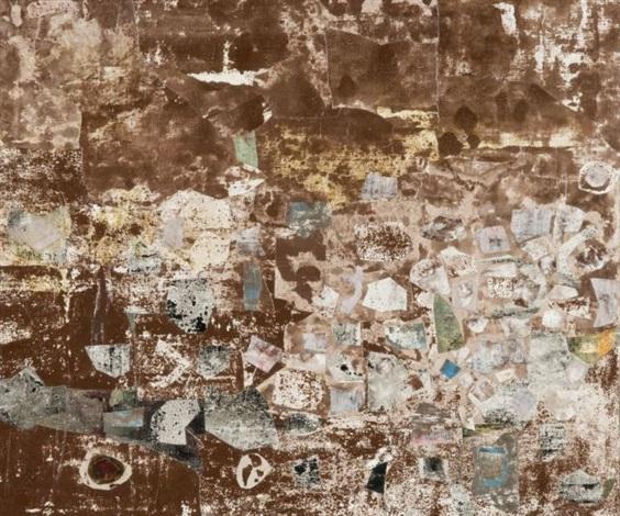 topographie au sol assemblage dempreintes by jean dubuffet