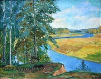 river in rassia by voldemar anderson