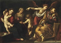 the dream of saint joseph by giovanni battista paggi