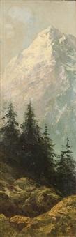 paesaggio montano by giacinto bo