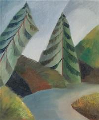 zwei bäume by alexander baturin