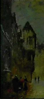 vieille rue a rouen by léon jules lemaitre