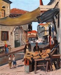 the market in jerusalem by ludwig blum