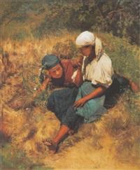 napfényes mezön (in a sunny field) by gyula aggházy