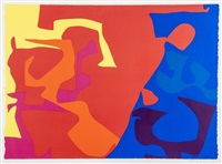 untitled, pl. 5 (from january) by patrick heron