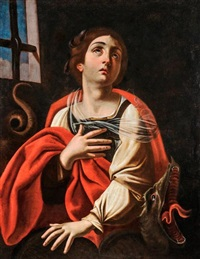 antiochiai szent margit by guido reni