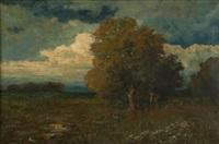 summer landscape by arthur hoeber