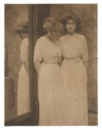 corrine and madeleine gelshenen by gertrude kasebier
