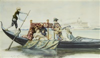 the boating party by casimiro tomba