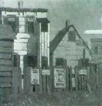 back yard fence by eugene miles