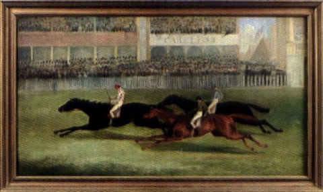 larrivée du derby by george henry laporte