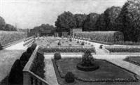 kammergarten in schonbrunn by josef pögl