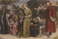 dante and beatrice by frederick richard pickersgill