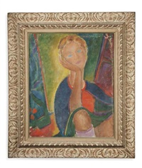 portrait de femme by maurice tabard