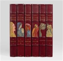 la divine comédie (bk by dante w/100 works, 6 vols) by salvador dalí