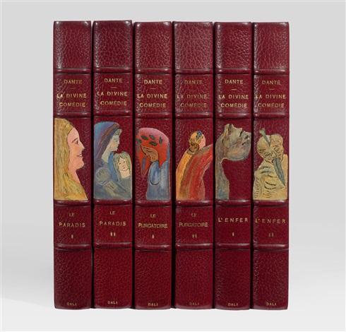 la divine comédie bk by dante w100 works 6 vols by salvador dalí